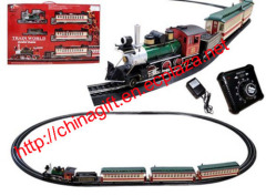 Electric Speed Change Classic Passenger Train Set