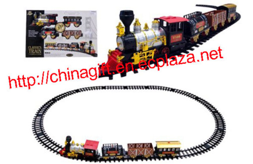 Battery Operated Classic Train Toy Set