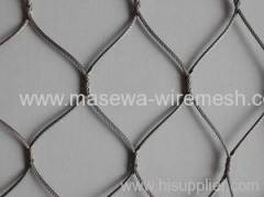stainless steel rope mesh.