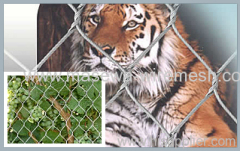 X-Tend roestvrijstalen gaas dierentuin gaas hek