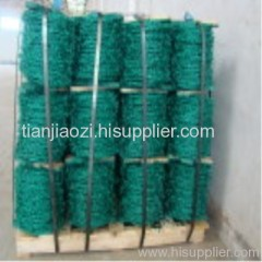 Plastic Coated Barbed Wire