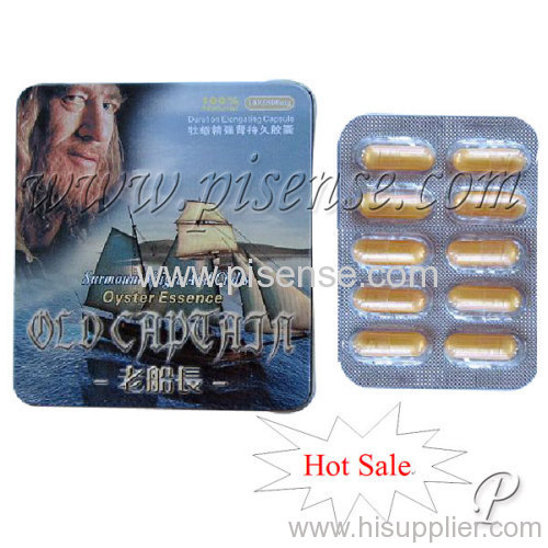Old Captain Oyster Essence Sex Capsule