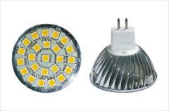 MR16 smd led spotlight