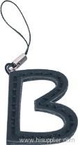 PU hand phone strap