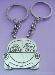 lovers' key chain