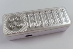 21+4led portable led rechargeable emergency lamp