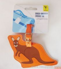 lovely kangaroo Luggage Tag