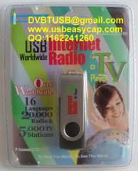 USB Internet Radio TV Player Worldwide
