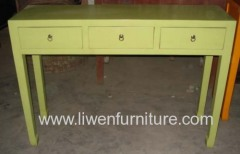 Chinese style side tables