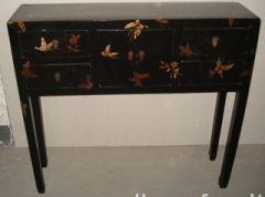 reproduction painted table