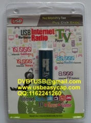USB Internet Radio TV Player News Games Worldwide