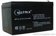 valve regulated free maintenance battery