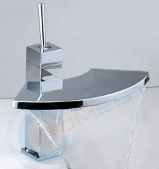 Brass Waterfall Basin Mixers