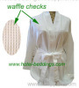 hotel bathrobe, spa bathrobe, waffle bathrobe