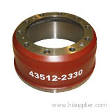 gray iron brake drum