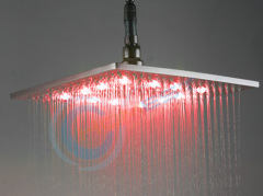 Color Change LED Shower Head
