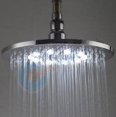 Brass LED Shower Heads