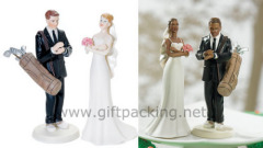 Golf Fanatic Groom Cake Topper