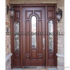 entry wood door