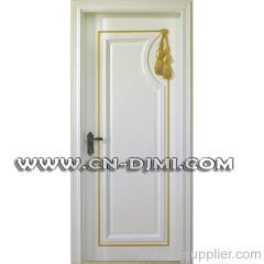 manual wooden door