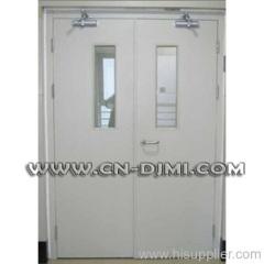 emergency fire door