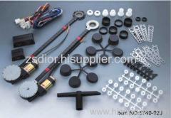 Universal power window kits