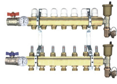 Hi-Flow Copper Manifold