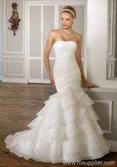 Tiered wedding dressES