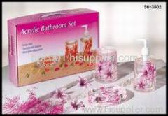 3 pcs bathroom set