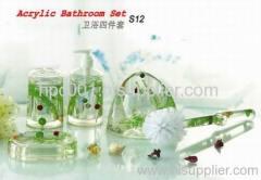 4pcs bathroom set