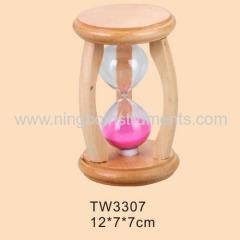 sand wooden timer