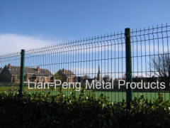 rimless fence netting