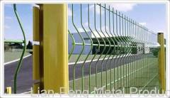 rimless wire fence