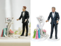 Still Shopping Cake Topper