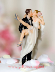 """Over the Threshold"" Cake Topper Figurine"