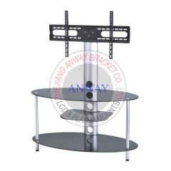 Tempered Glass LCD TV Stand