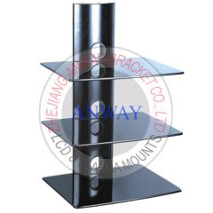 3 ply Glass DVD Shelf