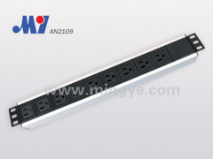 9 ways Al-alloy shell PDU