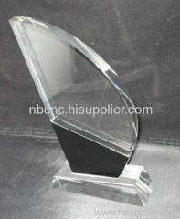 black trophy