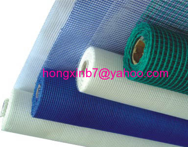 Coated alkali resistant fiberglass mesh cloth