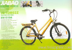 Lithium battery electric bicycles