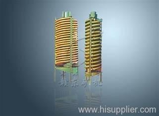spiral concentrator spiral separator spiral chute
