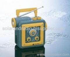 Waterproof LED Dynamo Flashlight