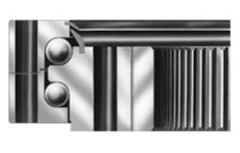 Double row ball type slewing bearings