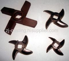 Lost wax casting parts