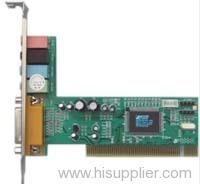 PCI 4 Channel Sound Card