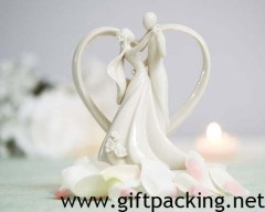 100% handwork polyresin Take My Hand Cake Topper