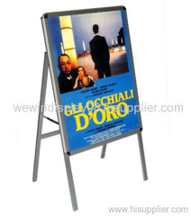 Poster stand,poster frame,A board,A frame,sidewalk sign,sign frame,pavement signs,poster holder,menu holder,sign board