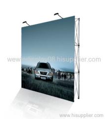 fabric (velcro)pop up display