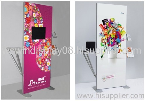 fabric LCD stand.fabric LCD display